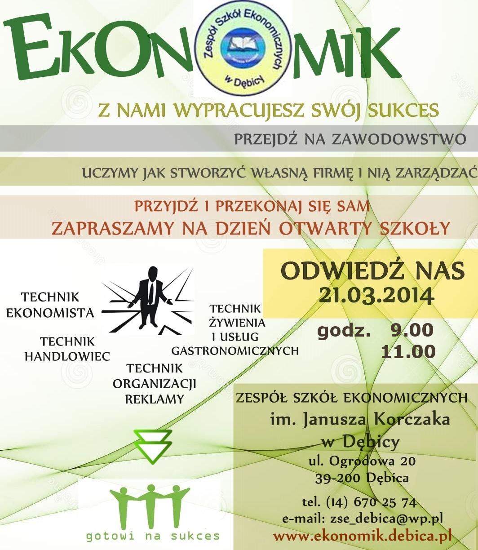 Dzień Otwarty Szkoły 21.03.2014
