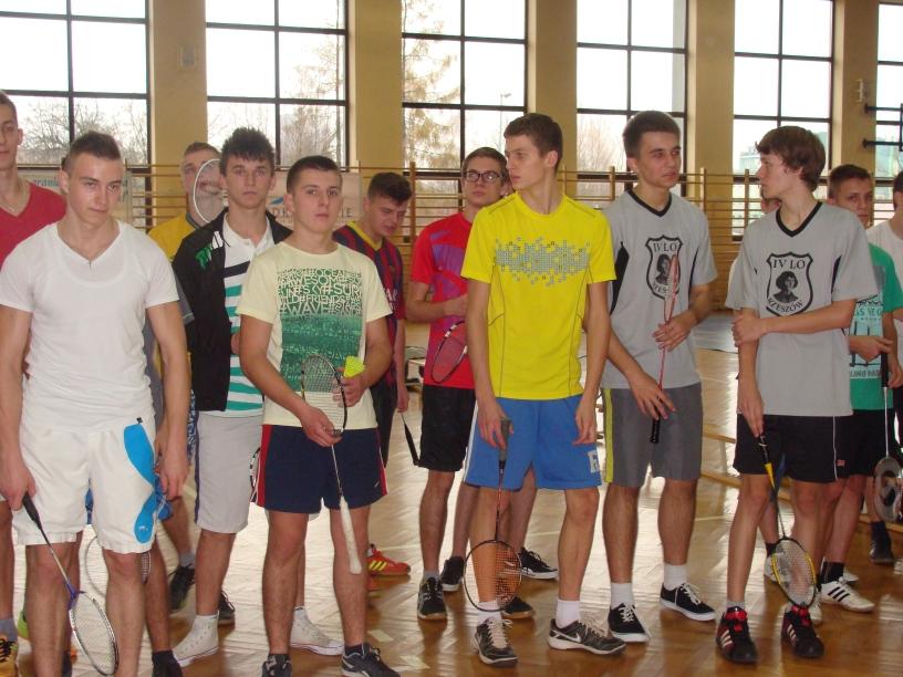 Półfinały Licealiady w badmintonie chłopców