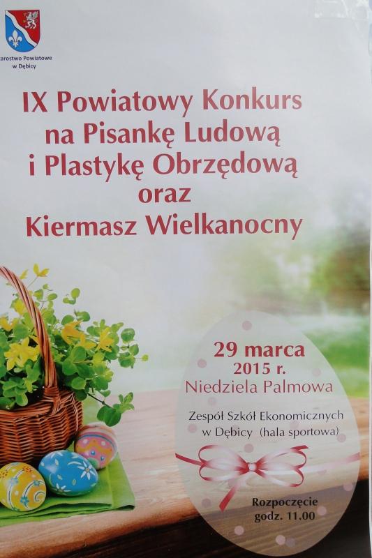 IX Powiatowy Konkurs na Pisankę Ludową i Plastykę Obrzędową oraz Kiermasz Wielkanocny