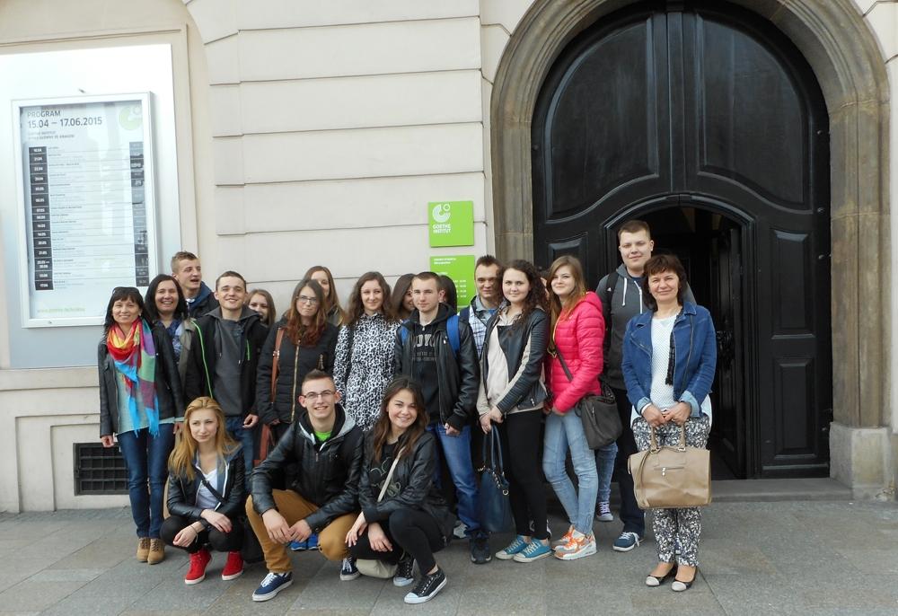 Wizyta w Instytucie Goethego w Krakowie