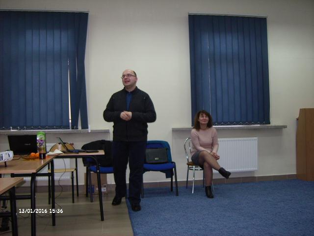 Spotkanie autorskie z pracownikiem IPN Panem Arkadiuszem Więchem