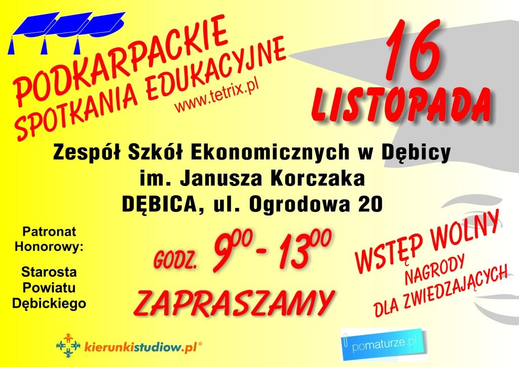 Podkarpackie Spotkania Edukacyjne 2016