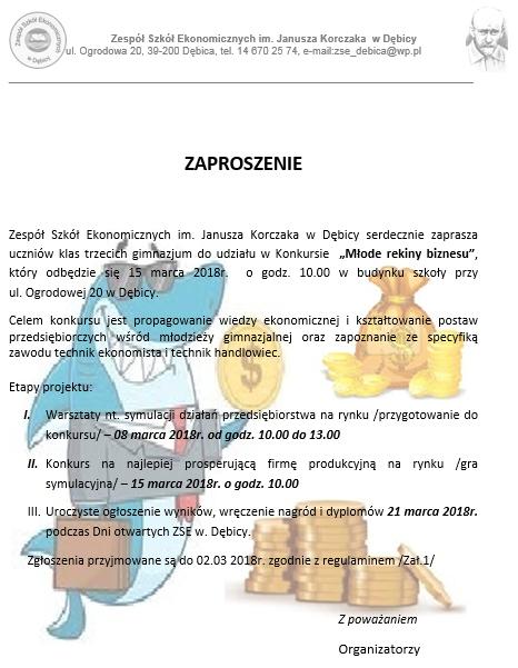 Zaproszenie-KONKURS