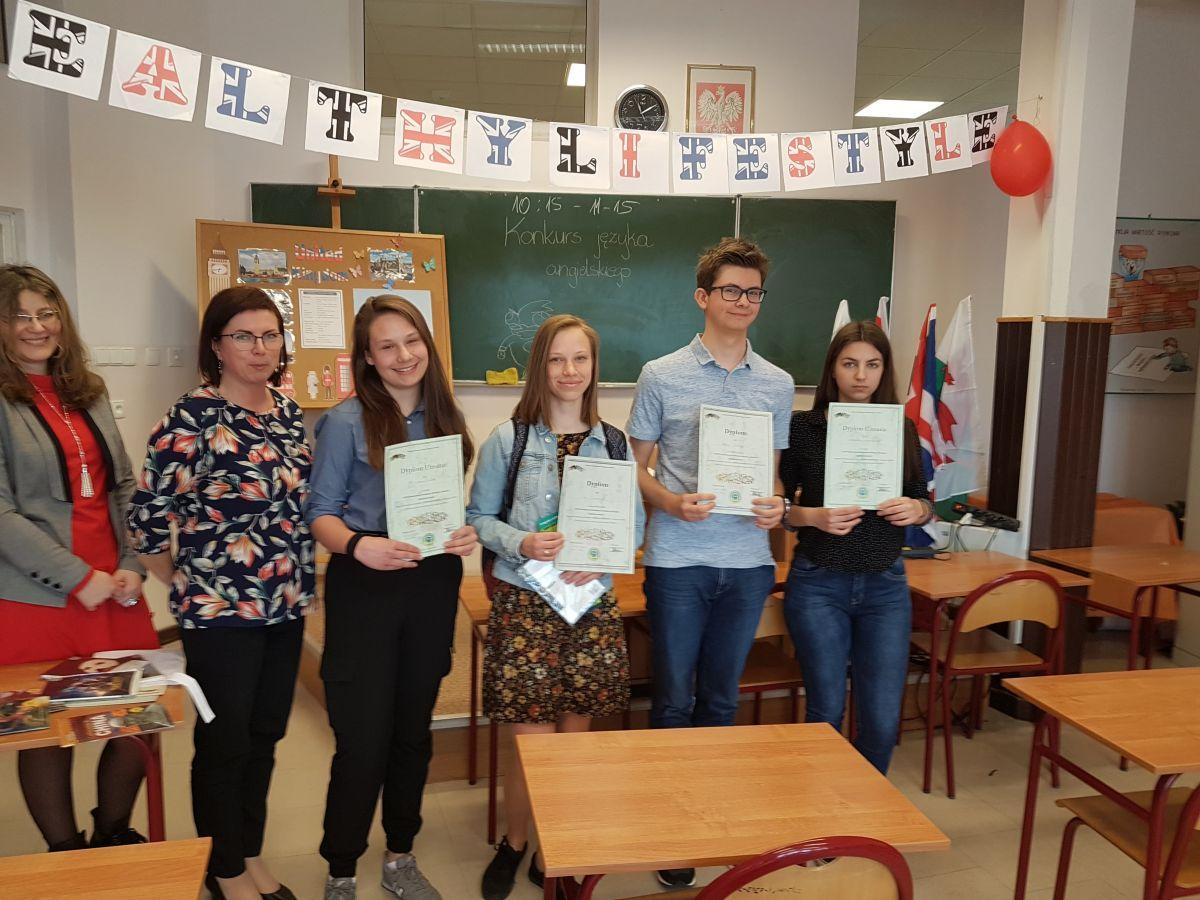 Konkurs Języka Angielskiego i Wiedzy o Krajach Anglojęzycznych