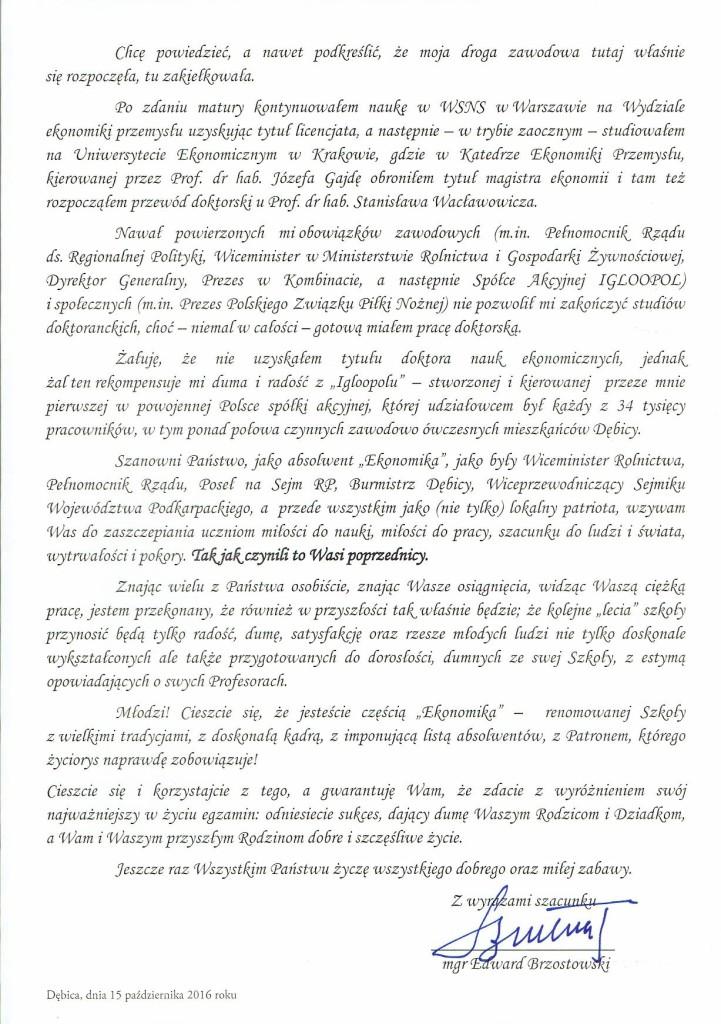 E.BRZOSOWSKI LIST 2